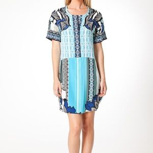 New Hale Bob Silk Shirt Dress S
